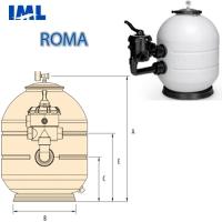"""Фильтр """"ROMA"""" MEC-400-VT"""